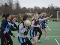 The Trinity Netball team, one of Trinity's many sports teams.