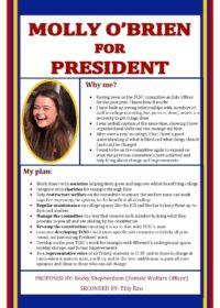 Molly O'Brien – President