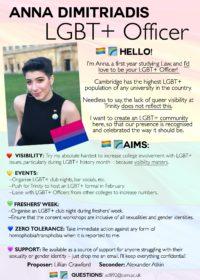 Anna Dimitriadis – LGBT+ Officer